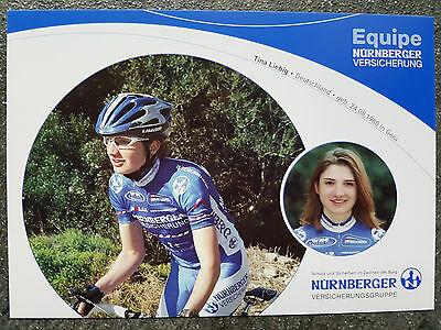 AK o.AG Tina Liebig Team Nürnberger 2004 Rarität