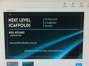 NEXT LEVEL SCAFFOLDS Beerwah Caloundra Area Preview