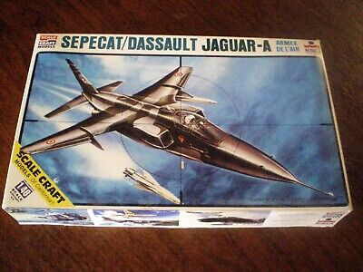 Rare  SEPECAT/DASSAULT JAGUAR-A   by ESCI 1:48 Scale  SEALED BAG Model Plane Kit for sale  Salt Lake City