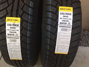 Winter Tires-brand new - never used- 235/70R16