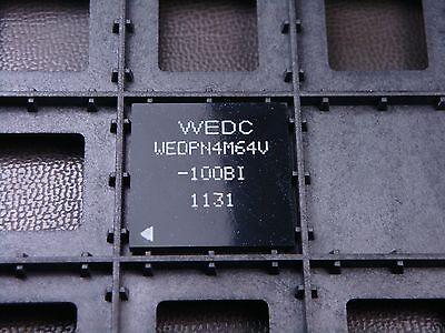 Wedpn4m64v-100bi White Microsemi 4mx64 Synchronous Dram 256mb 32mbyte 100mhz