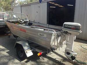 Stacer 14ft, crabbing/cray machine Bindoon Chittering Area Preview