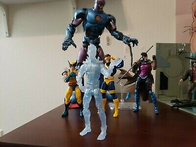 Marvel Legends X-Men Series ICEMAN Action Figure Juggernaut BAF Wave Loose