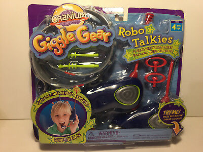 Cranium Giggle Gear - CRANIUM ~ GIGGLE GEAR ~ ROBO TALKIES ~ WITH ROBOT GADGETS ~ NEW