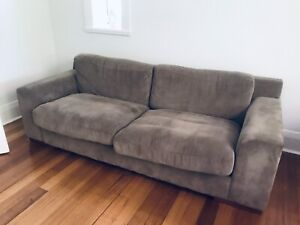 Chanel cord textile 2&3 seater couches