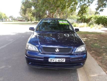 2001 Holden Astra Manual Sedan