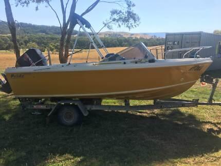 Runabout Fibreglass Boat