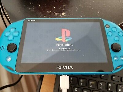 PS Vita Slim Blue 3.60 CFW Henkaku Enso 128gb PSP/Retroarch/PKGj