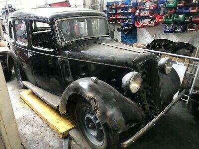 1935 austin 10. Removed from garage. no keys,no documents, no registration