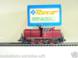 ROCO SPUR H0 43959 DIESELLOK V60 423 ROT DER DB (BO1390)