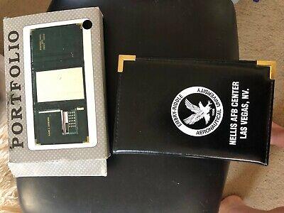 Portfolio Note Book Pad Card Holder Embry Riddle