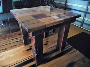 Recycled Timber Coffee or Lamp Table Victoria Point Redland Area Preview
