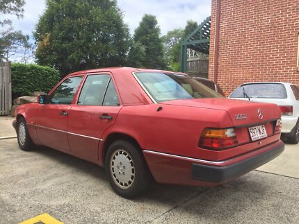 Mercedes-Benz 300E W124 with RWC and REGO