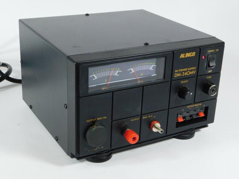 Alinco DM-340MV Adjustable Metered DC 30 Amp Power Supply (works great)