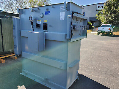 Cooper 1000 Kva Substation Transformer 12000 D - 480 Y 277