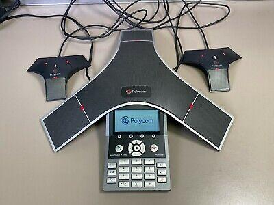 Polycom Soundstation Ip 7000 Conference Phone 2201-40000-001 W Mics Cables