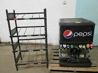 Heavy Duty Commercial Counter Top Lighted 8 Heads Soda Machine Bnib Rack