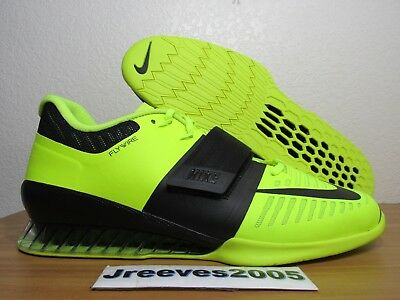a465946a9fa6 Nike Romaleos 3 Weightlifting Sz 12.5 100% Authentic Powerlifting 852933 700