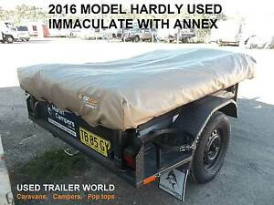 2016 REGISTERED CAMPER TRAILER WITH ANNEX. IMMACULATE. SYDNEY Heathcote Sutherland Area Preview