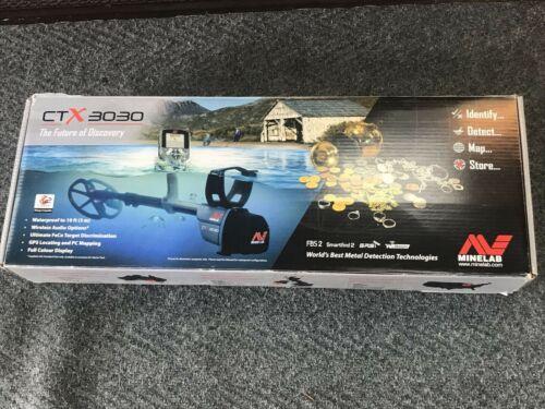 Minelab CTX 3030 Waterproof Metal Detector  wih BOX (C3)