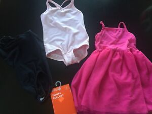 Girls dance wear - All for 8