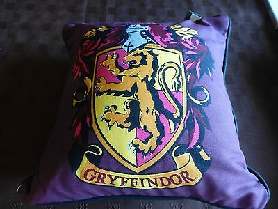 Primark Harry Potter Gryffindor House Cushion Red Burgundy 30cm Square Bday GIFT