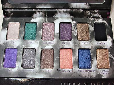 Urban Decay Limited Ed Shadow Box Palette 12 Eyeshadow Shades AUTHENTIC FS NIB