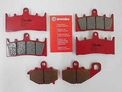 Brembo Sinter Bremsklötze Bremssteine komplett vorne + hinten Kawasaki ZX6R 600