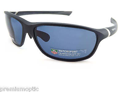 TAG HEUER polarised 27 DEGREE sunglasses Dark Blue/ Watersport Lens TH6021 403