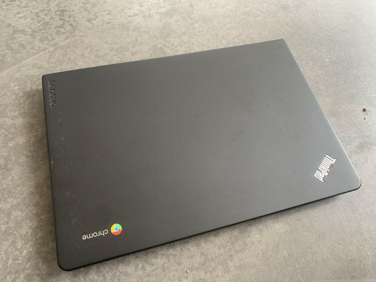 Lenovo thinkpad 13 chromebook core i3 6100u 4gb ram 16gb mmc 13.3