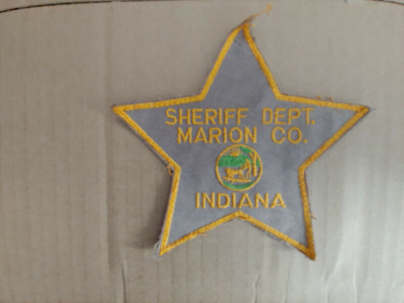 Marion County Indiana Sheriff patch - IN deputy police