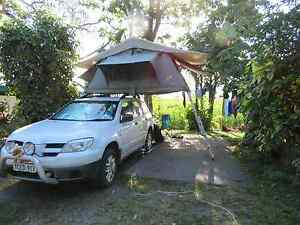 2006 Mitsubishi Outlander 4wd   Rooftop Tent   4 months rego North Ryde Ryde Area Preview