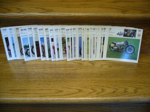 Lot of 60 Motorcycle Photos Harley-Davidson Moto Guzzi Indian BMW Ducati Triumph