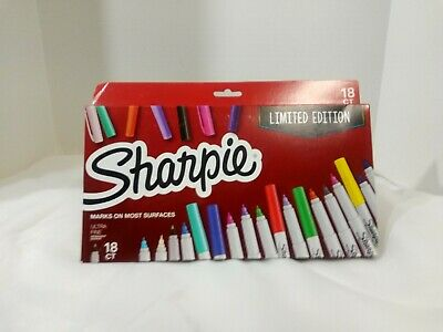 Sharpie Ultra Fine 18ct Limited Edition Markers