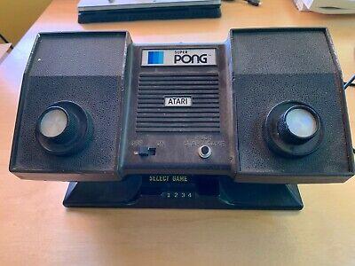 Atari Super Pong C-140 Vintage Console Game