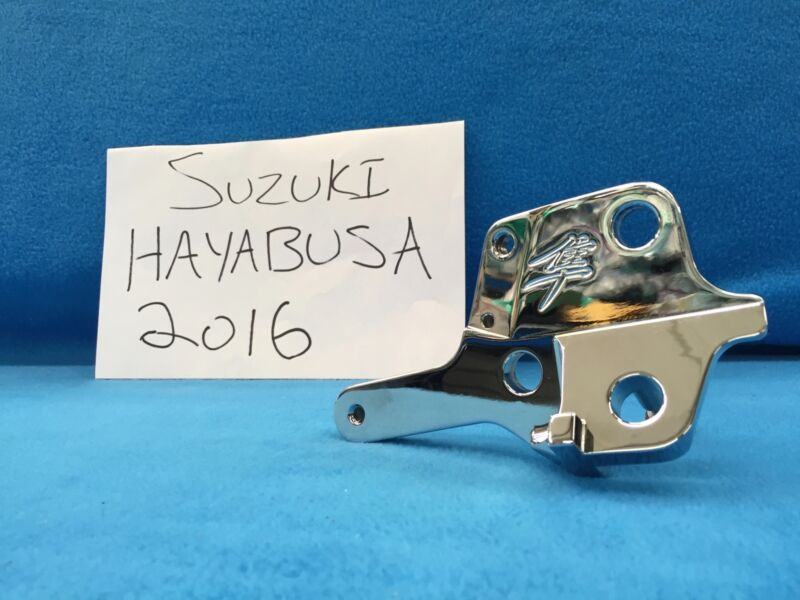 2016 Hayabusa Kickstand Bracket Chrome Smooth Billet