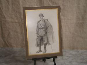 Guerre 1914 18 beau dessin de poilu reproduction - Dessin de poilu ...