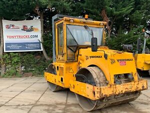 JCB VMT850 Twin drum roller woth vibration