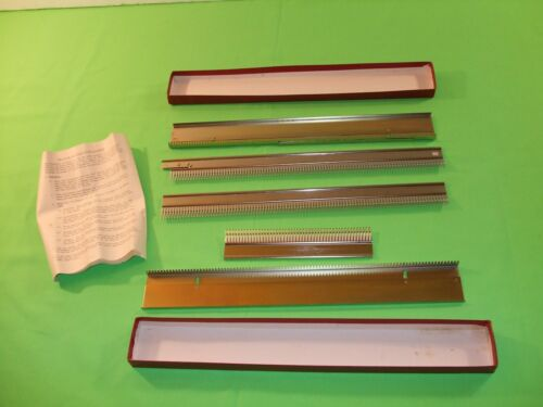 4.5mm Garter Bar For Standard Gauge Knitting Machine Brother Knitking W/Box