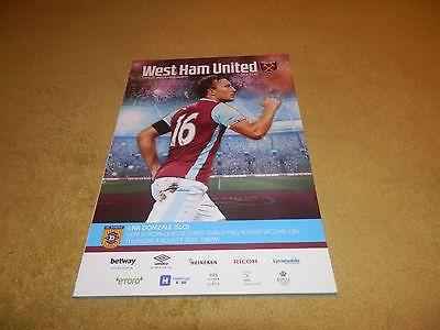 West Ham Utd v NK Domzale-First ever match(Europa League) at London Stadium 2016