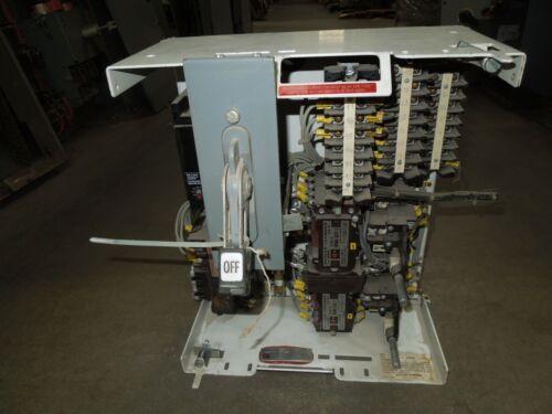 "Cutler Hammer F10 Unitrol Size 1 2 Speed 15A Fusible MCC Bucket 24""T Lever"