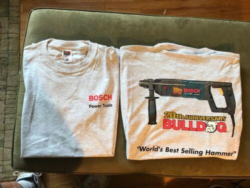 bosch tools 20th anniversary xl tee shirt