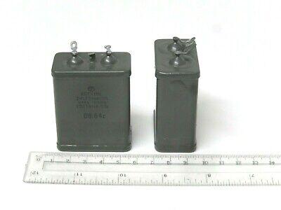 4uF 400V 10/% RUSSIAN AUDIO CAPACITORS PIO Capacitors 1 X MBGP-1 МБГП–1