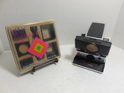 Polaroid SX-70 Land Camera Sonar Onestep with Accessory Kit