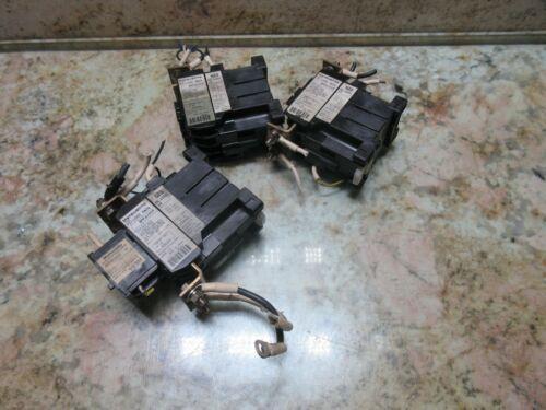 SODICK A500W MATSUSHITA CONTACTOR UP500 50A DC 125V 55 FC-10NZ 4A0B LOT OF 3