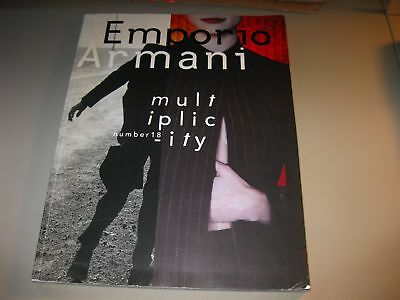 Emporio Armani Magazine N. 18 September 1997 Multiplicity New York Tokyo Fashion