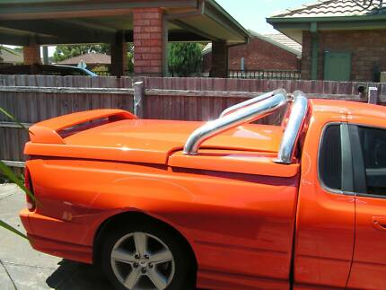 Damaged B A Falcon XR6 ute for sale