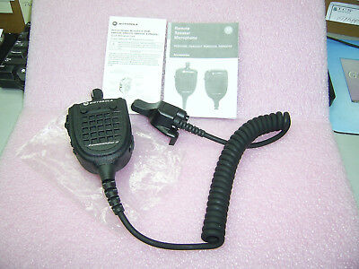 New Motorola Xts5000 Xts3000 Mt2000 Jedi Vhf Uhf Commander Ii Speak Mic Rmn5089a