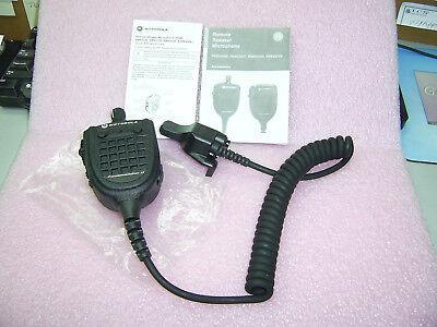 New Motorola XTS5000 XTS3000 MT2000 Jedi VHF UHF Commander II Speak Mic RMN5089A