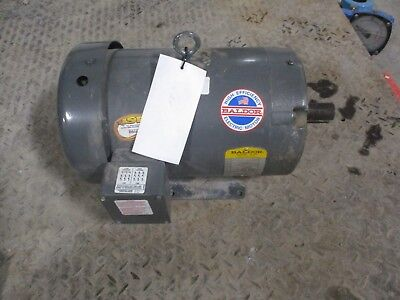Baldor Motor Cat M14c 91449727 Fr 215tc 460v 124337c New Old Stock
